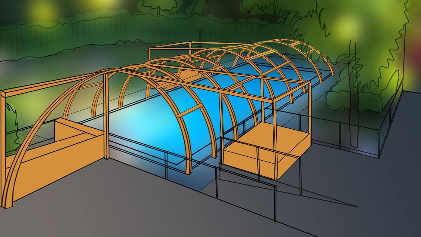 Projekt Wettbewerb Holz-Körper