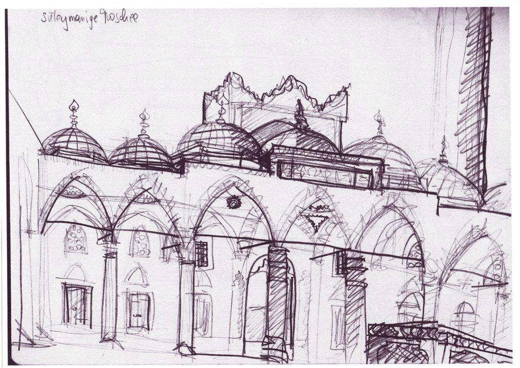 Skizzenbuch Istanbul