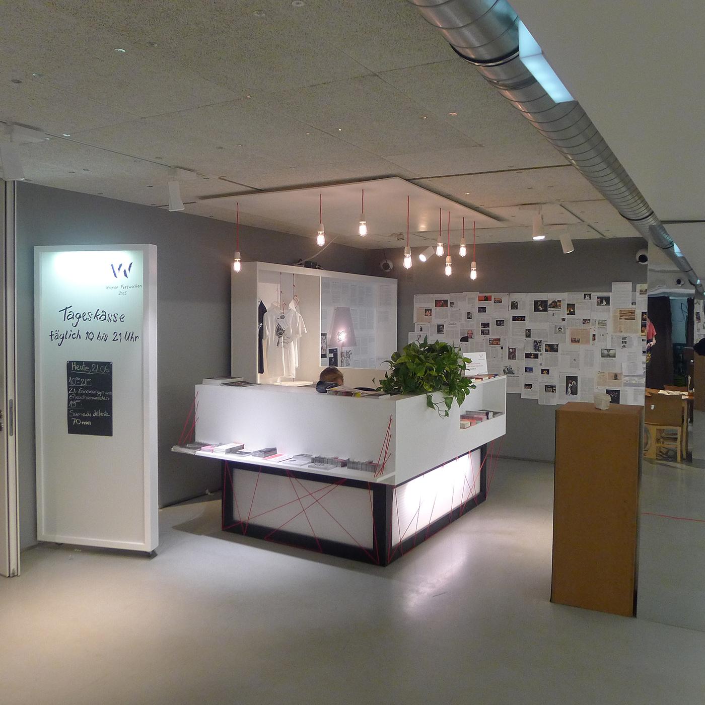Szenographisches Büro im Festivalzentrum